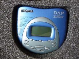 Retro/Vintage Creative Digital Audio Player - Jukebox