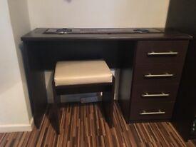Bedroom furniture set - wardrobe bed dressing table