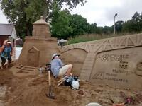 Sand sculpting lessons