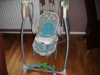 Graco Swing n' Bounce 3-in-1 Swing Bouncer and Vibrating chair