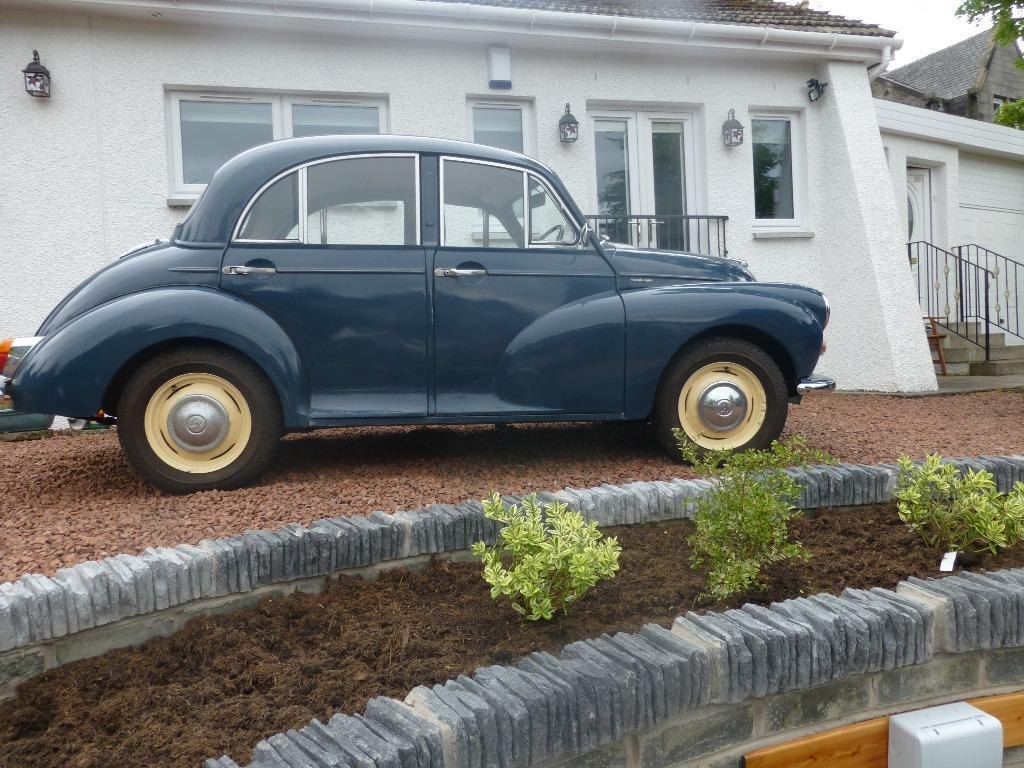 morris minor historic car 1968 blue in clydebank west. Black Bedroom Furniture Sets. Home Design Ideas