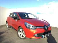 Renault Clio 0.9 TCE 90 Dynamique MediaNav Energy 5dr (red) 2013