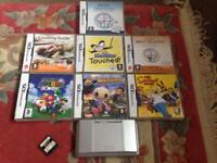 Nintendo DS (7 games + charger + carrying case)