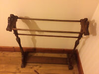 Genuine antique drying rack/ clothes horse
