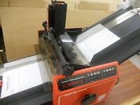 Socbox Automatic numbering machine suitable for the printing trade.