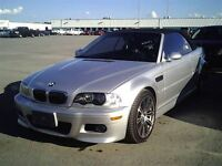 2002 BMW M3 CONVERTIBLE//LOW LOW KM//6 SPEED//CERTIFIED//2 YEA