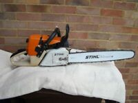 Stihl 341 chainsaw