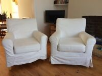 Ikea arm chairs - in good condition, comfortable and great price!