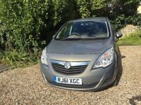 Vauxhall Meriva 1.4 i 16v Exclusiv 5dr £4,250 GREAT FAMILY CAR *