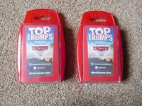 Disney Cars Top Trumps (2 Packs) - Used but still in good condition - LOUGHBOROUGH