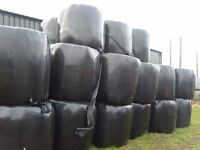 4ft Bales of Wrapped Hay