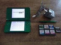 Nintendo DSi XL Console With 7 Games
