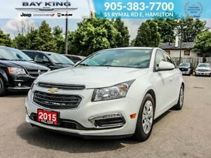2015 Chevrolet Cruze 1LT, BACKUP CAM, BLUETOOTH