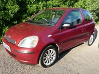 Toyota Yaris 1.0 VVT-i Colour Collection 3dr LOW MILEAGE IDEAL FIRST CAR CHEAP USED CARS LEICESTER