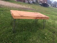 Handmade Oak Coffee Tables