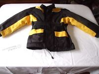 Motorcycle jacket for boy aged about 9years