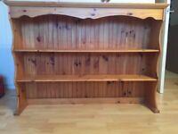 "Pine Dresser Top, measures 52""wide X 37""high X 10"" deep"