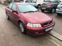 2002 VOLVO S40 1.8 PETROL, LEATHER SEATS, CRUISE CONTROL
