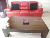 TV unit, coffee table and side table.