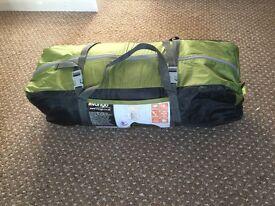 Vango x4 man tent and x2 Wychwood sleeping bags
