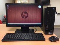 "HP Computer Intel 2.7GHz, 4GB, 500GB, HDMI, 20"" LED"