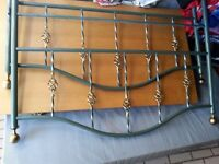 Metal Double Bed Frame .