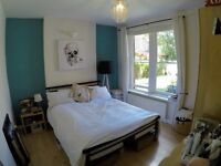 AMAZING LARGE DOUBLE ROOM in beautiful 2 bed garden flat
