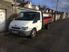 Ford transit pickup which lift 2.4td 2001 no mot