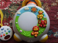 Mother care baby safari projector lullaby