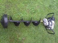 """Jiffy 3hp 10"""" auger"""