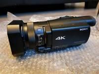 Sony FDR AX-100e 4K UHD movie camera