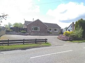 3/4 BEDROOM DETACHED BUNGALOW, AVOCH, BLACK ISLE, 15MINS FROM INVERNESS.
