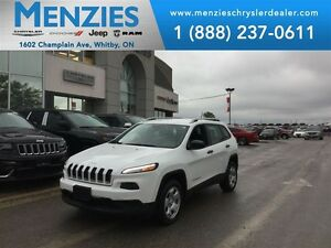 2015 Jeep Cherokee Sport 4x4, Heated Steering Whl, Clean Carproo