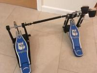 Big Dog Double Kick / Bass Drum Pedal - chain drive - super condition - great drum kit addition!