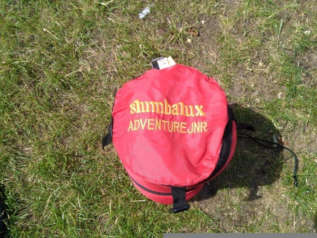 slumbalux adventure junior sleeping bagin Bournemouth, DorsetGumtree - JUNIOR SLEEPING BAG slumbalux adventure junior sleeping bag Used but in good condi tion