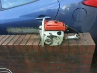 Stihl 041av chainsaw petrol
