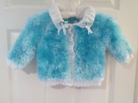 baby girl cardigan 3-6 months