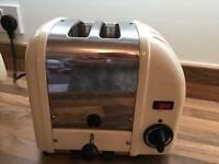 Dualit Toaster cream