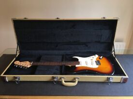 Fender Squier SE (Special Edition) and Tweed Case