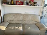 Free white sofa