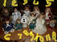 Antique Collectable Dolls for sale £10 each or AllFor£80