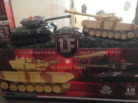 Laser Force RC Assault Tanks