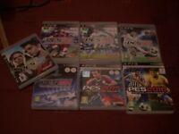 ps3 playstation games bundle: pro evolution soccer / pes 2008 2011 2012 2013 2014 2014 2015 2016
