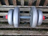 Single 12Kg Dumbell.