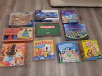 Selection of games and jigsaws
