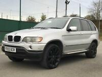 £2495!! 2003 BMW X5 3.0 SPORT *ESTATE *AUTOMATIC *20' ALLOYS BLACKED OUT *LEATHERS *BARGAIN*