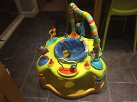 3 in 1 baby activity swivel chair