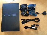 Sony PS2 with 2 controllers and brand new leads