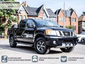 2015 Nissan Titan Crew Cab SWB PRO-4X Option Package With Brand