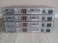 "x 4 Cisco 1841 Routers CCNA CCNP CCIE LABS ( High Specs ) "" BARGAIN"""